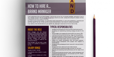 How to hire a Brand Manager