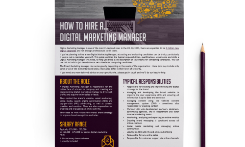 how to hire a digital marketing manager