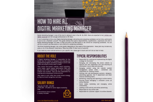 How to hire a… Digital Marketing Manager